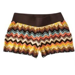 Missoni For Target Zig Zag Shorts Sz Large Pockets